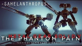 For the last 1 year, some people have been requesting this Mech for many times, since I start building Metal Gear inspired Mechs,...