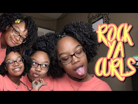CUTE & EFFORTLESS CURLY HAIRSTYLES  TYPE 4 NATURAL HAIR