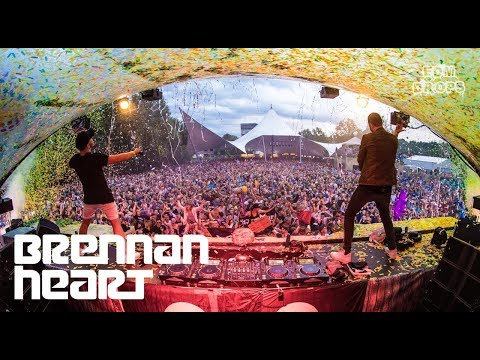 Hardstyle Drops Only - Brennan Heart @ Tomorrowland 2017 Q-Dance Stage