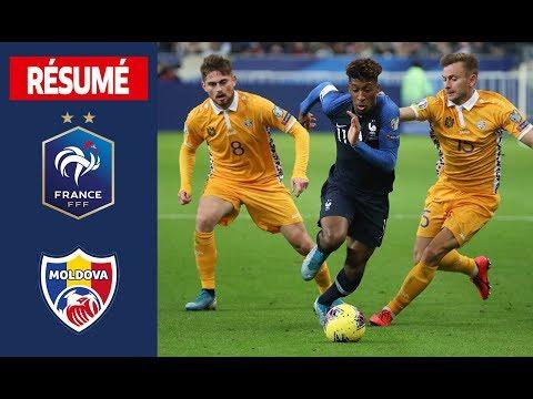 France 2-1 Moldova   ( UEFA Euro 2020 qualifying )