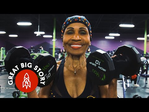 Inspiring 80 Year Old Bodybuilder