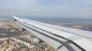 Video Air France Airbus 319 Amazing View over Alger just before Landing in ALG MP3, 3GP, MP4, WEBM, AVI, FLV Juli 2018