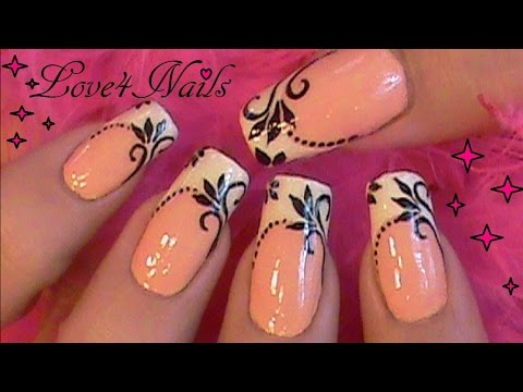 nail art french manicure