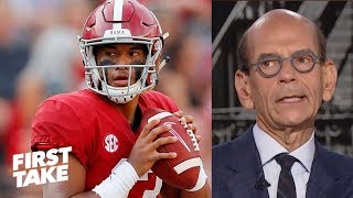 Alabama is sucking the oxygen out of college football - Paul Finebaum | First Take