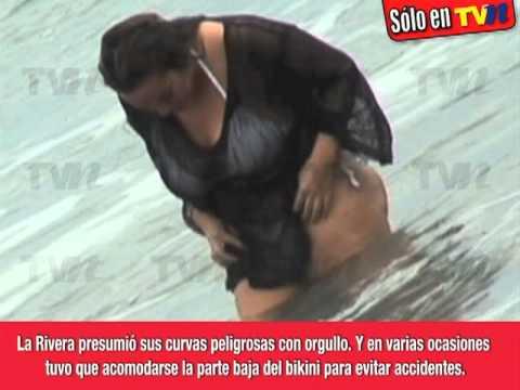 Jenni Rivera sin tapujos y en bikinazo