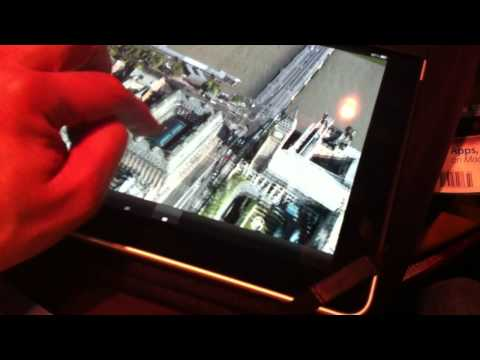 C3's 3D Mapping Tech on iPad [CES 2011]