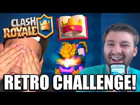 RETRO ROYALE CHALLENGE :: Clash Royale :: RETRO CHEST OPENING & REWARDS!