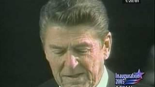 C-SPAN: President Reagan 1981 Inaugural Address