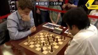 Carlsen vs Nakamura - 2013 Tal Memorial Blitz Chess
