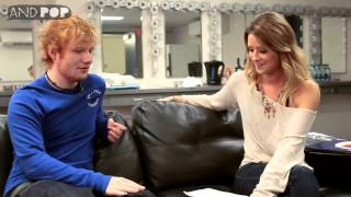 Ed Sheeran says he's the most pirated artist in England (part 2 of 2)