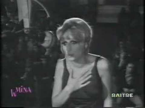 mina - Mina video live Canzonissima 1968.