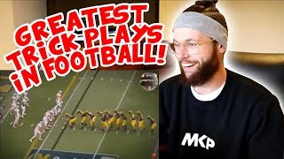 Video Rugby Player Reacts to Greatest Trick Plays in Football History! MP3, 3GP, MP4, WEBM, AVI, FLV Agustus 2018