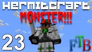 Hermitcraft FTB Monster Ep. 23 - Auto Essence Seed Farm