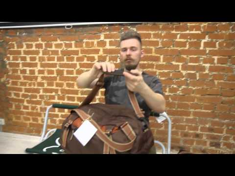 Дорожная сумка Greenell «Слейн 35». Видеообзор.