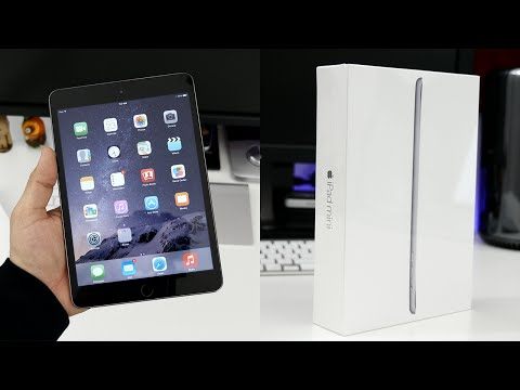 Apple iPad Mini 3 unboxing