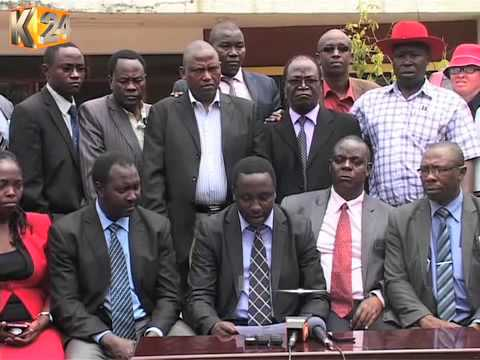 Drama at area County Assembly as rowdy youth attempt to disrupt sittings
