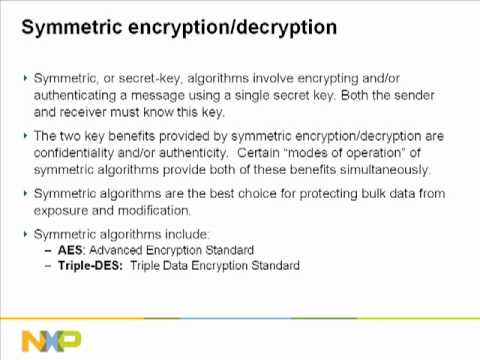 Training Module: NXP & NTRU Cryptography for ARM MCUs