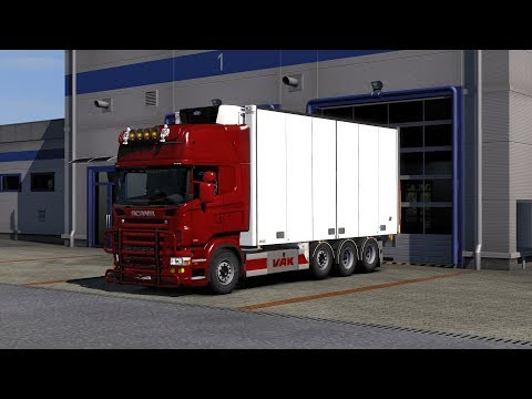 Tandem Addon for RJL Scania RS & r4 by Kast 1.32.x