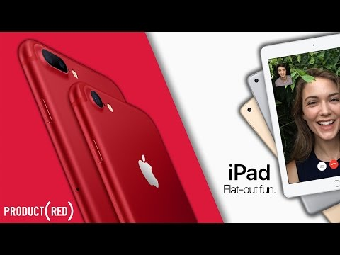 NEW Product RED iPhone 77 Plus  New 9.7-inch iPad!