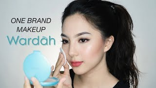 Video WARDAH One Brand Makeup Tutorial (Full Face Only 300K+) ✨ MP3, 3GP, MP4, WEBM, AVI, FLV Juni 2019