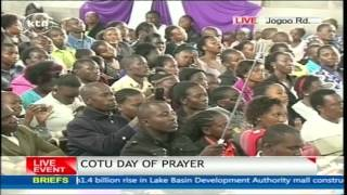 CORD Leader Raila Odinga's Speech At COTU's Day Of Prayer ACK St. Stephen Jogoo Road