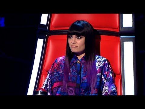 Jessie J's Faces - The Voice UK - BBC One видео