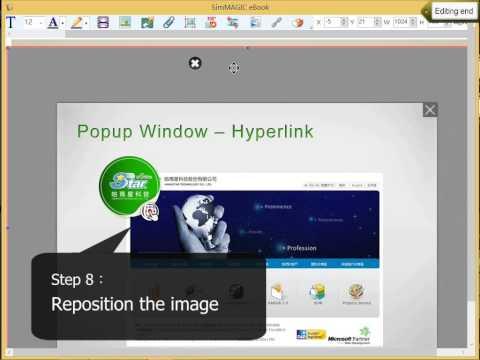 Advanced Popup Window Hyperlink
