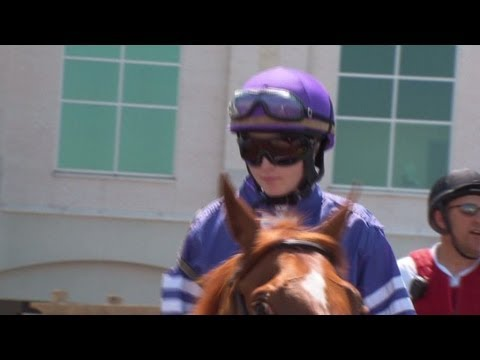 jockey - Jockey Rosie Napravnik hopes to make history by being the first woman to win the Kentucky Derby. For more CNN videos, visit our site at http://www.cnn.com/vi...