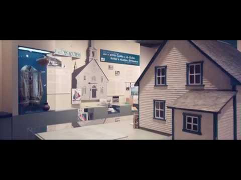 Visitez le Musée de la Gaspésie et le Musée acadien du Québec cet hiver (видео)