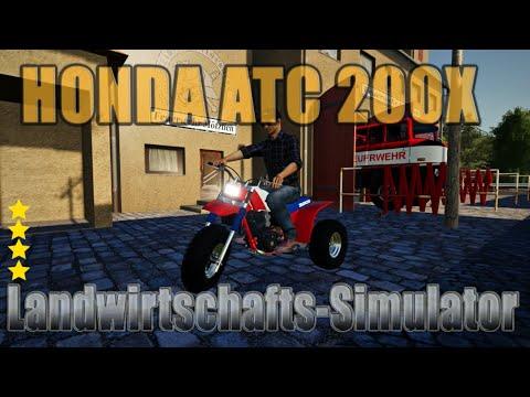 Honda ATC 200X 1984 v1.0.0.0
