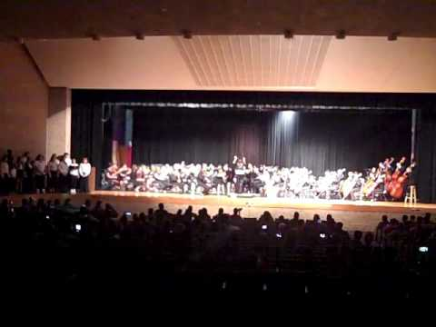 "JVHS Orchestra ""Arrival To Earth"""