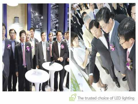 POSCO LED at LED & OLEDEXPO 2012
