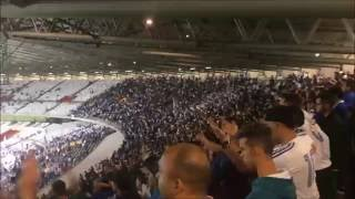 Cruzeiro x Flamengo - C. Brasileiro - 15/06/2016 Apoio da torcida - Setor Amarelo Cruzeiro fans vs Flamengo...