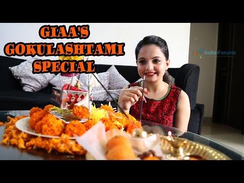 Giaa Manek celebrates Gokulashtami