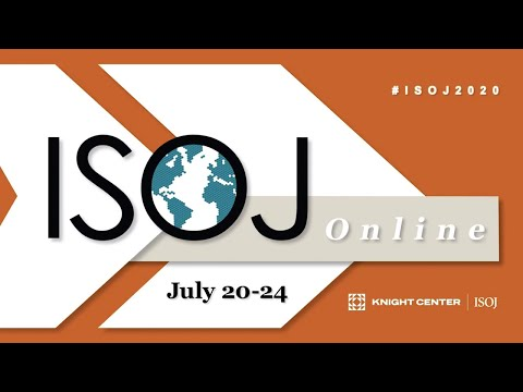 ISOJ 2020 Workshop: Artificial intelligence and machine learning in the newsroom