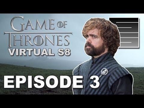 "Game Of Thrones Season 8 Episode 3 - ""Kings Of Winter"" |  Boston University Virtual Final Season"