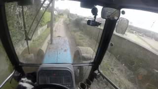 Muck Spreading 2015 Ford 8340