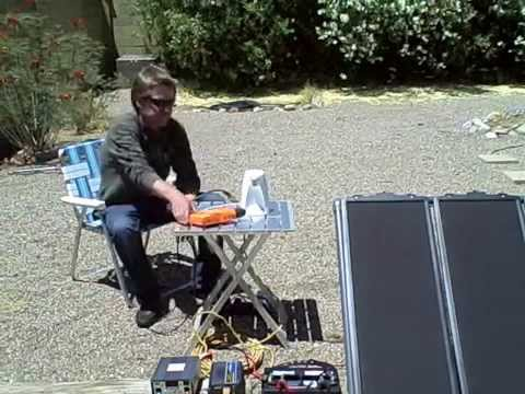 "Solar Power System – DIY ""Small Scale"" off-grid solar electric system (runs almost anything)"