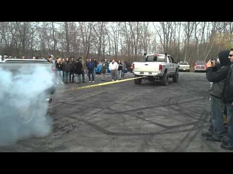Dodge 2500 Cummins Pull Against Chevy 2500 Duramax