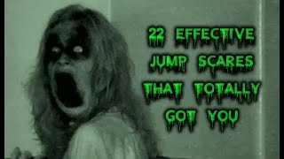 """Warning: Abrupt changes in image or event accompanied by loud, frightening sounds will occur during the course of the video. A jump scare is a popular technique employed in horror cinema to scare audiences. However, most of them are cheap and are only used to disguise the film's actual lack of ability to genuinely unsettle the audience. This does not apply to the films listed in this video. These are films who've mastered the art of the jump scare, so today, we honor them in the latest episode of Next of Ken, 22 Effective Jump Scares That Totally Got You.Did we miss your favorite jump scare? Let us know in the comments below! Please Subscribe to our channel for daily uploads! Like us on Facebook: https://www.facebook.com/NextofKen1.Follow us on Twitter:  https://twitter.com/nextofken1Next of Ken is a producer of reference online video content, covering all things entertainment including video games, movies, TV shows, trends, and more. We upload new videos daily with Top 10 lists, Origin stories, and more! Any audio/visual content that was used in the creation of this video are the sole property of their respective owners, production companies, distributors, and/or airing network(s), if applicable. Next of Ken claims no ownership to the footage used and has no affiliation with any of these production companies, distributors, or airing network(s).Musical Credit: """"Sneaky Snitch"""" - Kevin MacLoad"""