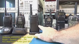 Two-Way Radio Handsets Tested – The Results