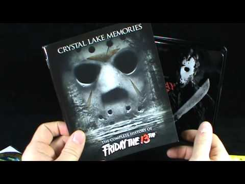 DVD Spot - Friday the 13th 12 Films of Terror Complete Blu Ray Collection