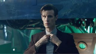 http://www.bbc.co.uk/doctorwho Alone in the TARDIS, the Eleventh Doctor changes...