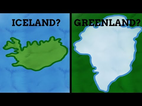 Are Iceland & Greenland's Names Mixed Up?