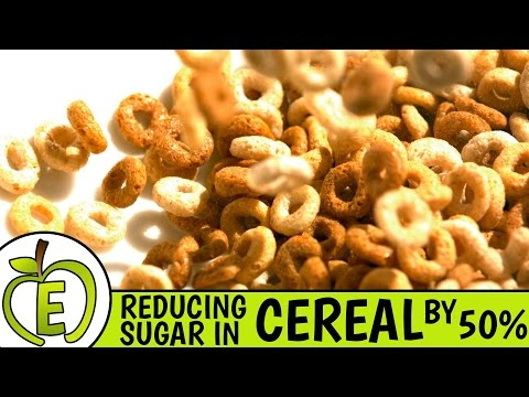 Reducing Sugar In Cereal by 50%
