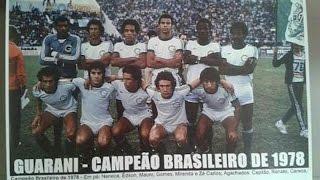 Pela primeira vez na história, um clube do interior de São Paulo se consagra campeão brasileiro de futebol.1 a 0, no Brinco de Ouro da Princesa com gol de Careca. narração do pai da matéria Osmar Santos