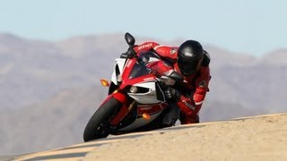 9. Traction Control at work on 2012 YAMAHA YZF-R1 @Chuckwalla Valley Raceway