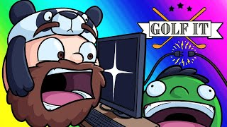 Video Golf-it Funny Moments - Nogla Sabotages the Whole Game! MP3, 3GP, MP4, WEBM, AVI, FLV Agustus 2019
