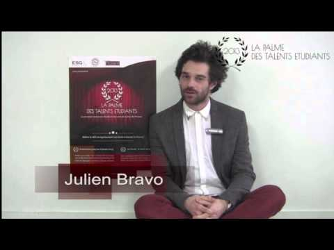 La Palme des Talents Etudiants - Jury n°4 - Julien Bravo