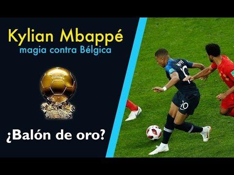 La increible jugada de Mbappé contra Bélgica vista desde varios ángulos